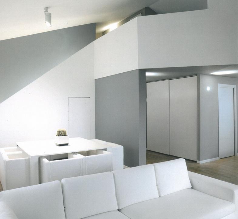 Architettura d 39 interni brescia armonia a due colori design interno - Architettura design interni ...